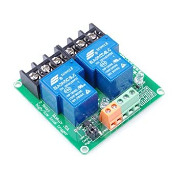 com channel relay module high low level triggering 2 channel relay module  high low level triggering  wiring diagram