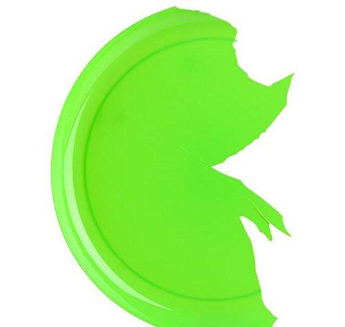 9'' GREEN BREAK-A-PLATE, Case of 2 by DollarItemDirect