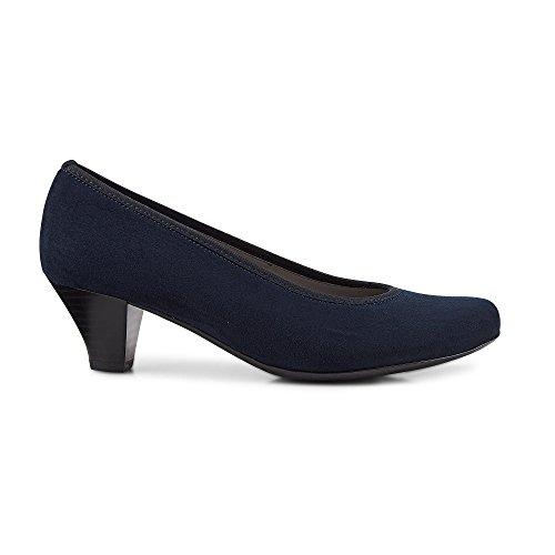 Jenny Ara Auckland 22-64245-02 Dame Komfort Pumps Blau 6Y7swO4K6d