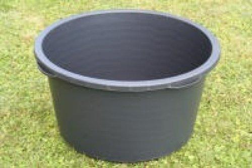 Mortero de cubo de 90 litros alrededor de colour negro