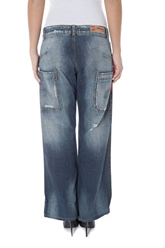 Phard P17022704279LF Flatiron Denim Jeans Mujer Azul 1750