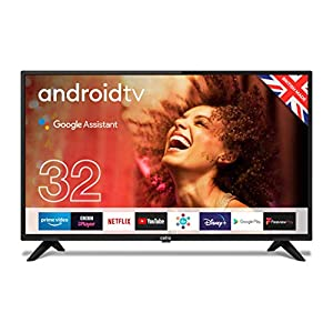 """Cello ZG0223 32"""" Smart Android TV with Freeview Play, Google Assistant, Google Chromecast, 3 x HDMI and 2 x USB   Made…"""