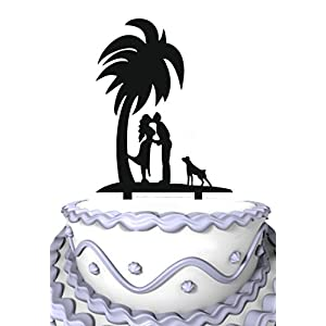 4143GoRW55L._SS300_ Beach Wedding Cake Toppers & Nautical Cake Toppers