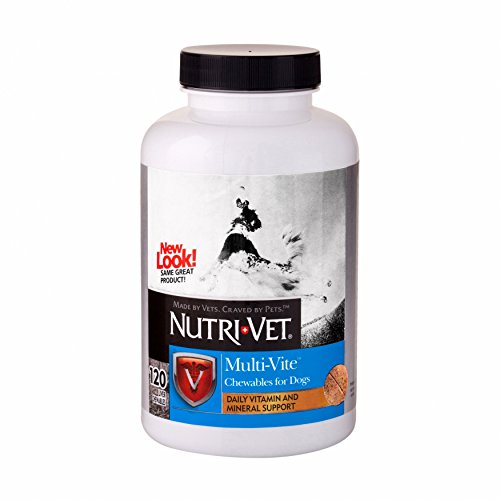 Nutri-Vet Multi-Vite Chewables for Dogs, - Nutri Vitamins Chewable