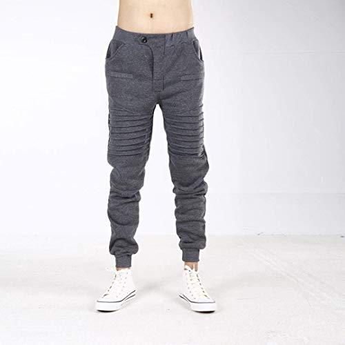 Simple Dunkelgrau Nvfshreu Longs De Jogging Pour Hommes Baggy Automne Survêtement Sport Pantalons Style Printemps raOpwq0aU