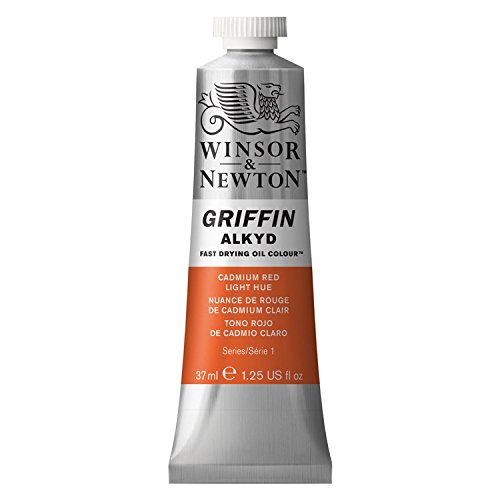 - Winsor & Newton Griffin Alkyd Oil Colours cadmium red light 1.25 oz.