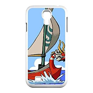 Samsung Galaxy S4 9500 Cell Phone Case White The Legend of Zelda The Wind Waker King of Red Lions VIU983162