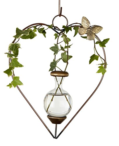 Butterfly Hanging Brass (The Brass Butterfly Hanging Heart Planters)