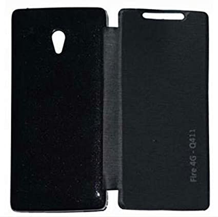 reputable site acaa6 241a4 Madhur Micromax Canvas Fire 4G Q411 Flip Cover Stylish: Amazon.in ...