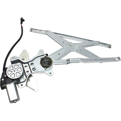 741-801 Front Left Driver Side Replacement Power Window Regulator with Motor Assembly for 1998 1999 2000 2001 2002 Toyota Corolla