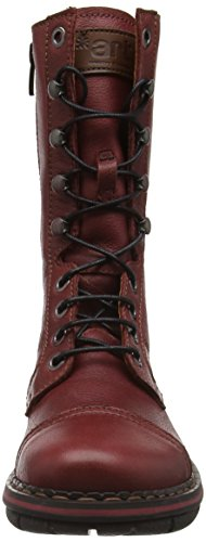 Art Assen High Lace, Stivali Donna Rosso (Red (Memphis Amarante))