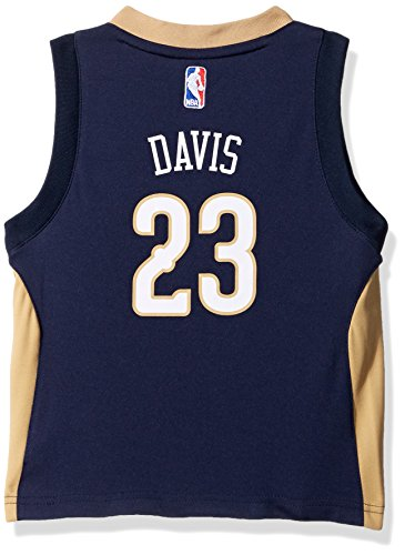 (Outerstuff Toddler Replica Road Player Jersey, Anthony Davis, 4T)