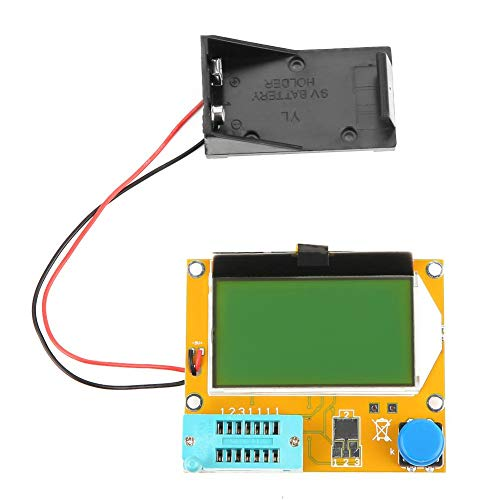 Transistor Tester Diode ,LCD Graphical Transistor Inductor Capacitor ESR Meter Multifunction Tester