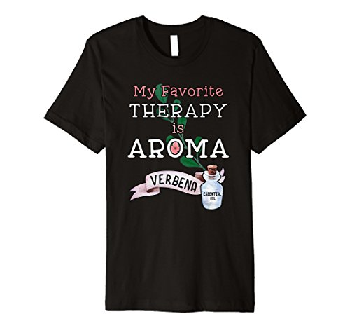Mens Aromatherapy Lemon Verbena Essential Oil T-Shirt (Aromatherapy Verbena)
