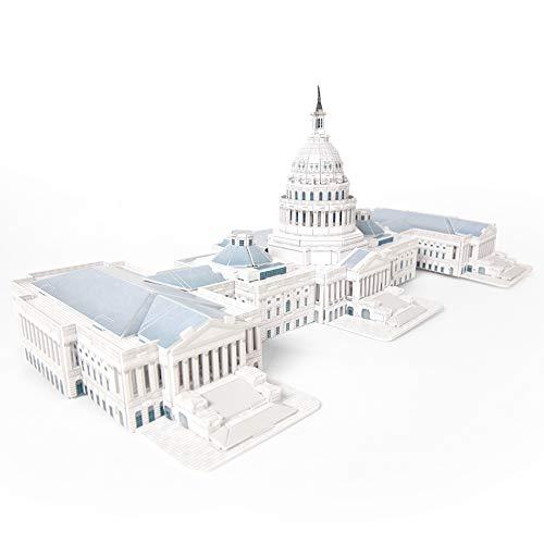 CubicFun MC074h The U.S. Capitol 3d Puzzle, 132 Pieces