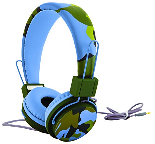 PHP130BL Universal Camouflage Headphones Compatible
