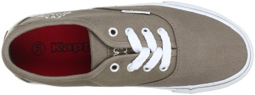 Kappa Home 241446 - Zapatillas de tela para hombre Multicolor (Mehrfarbig (5210 CAMEL/WHITE 5210 CAMEL/WHITE))