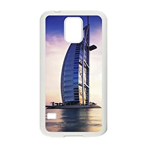Custom Dubai Burj Al Arab Hotel Design Plastic Case Protector For Samsung Galaxy S5 by lolosakes