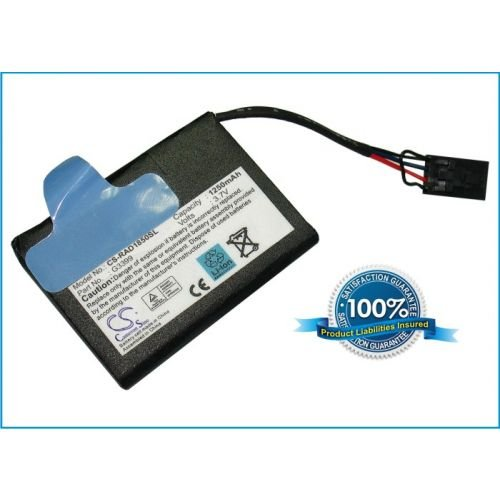 1250mAh Li-ion Battery for DELL PowerEdge 2800 Server for part number G3399