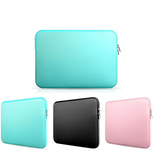Frog-tech 11-11.6 InchNeoprene Laptop Notebook Ultrabook Sleeve Case for MacBook Pro Air and Other Brand Laptop 11 inch Laptop - Turquoise ()