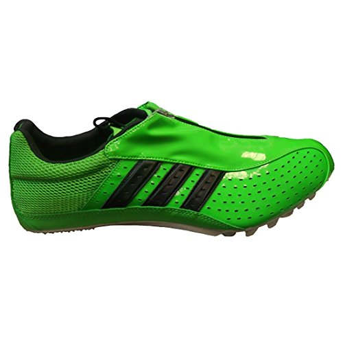 adidas Men's Powersprint 2 Running ShoeIntense Green/Black/Metallic Silver15 M US