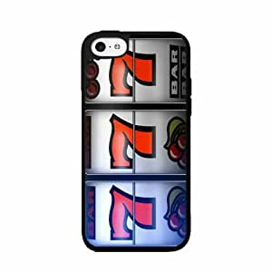 Lucky 777 Slot Machine - Plastic Phone Case Back Cover (iPhone 5/5s)