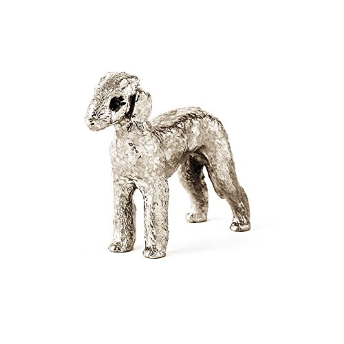 - Bedlington Terrier Made in UK Artistic Style Dog Figurine Collection