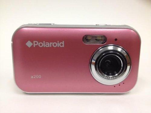 Polaroid CAA-200PC 2MP CMOS Digital Camera with 1.44-Inch LCD Display (Pink) (Cmos Camera Lcd)