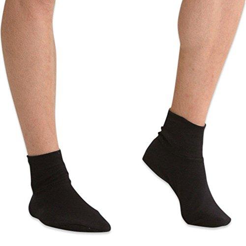 Latex-free Socks (2 pack) (Large, Black)