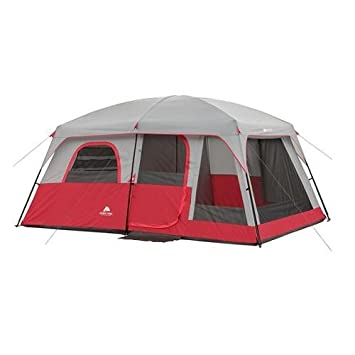 Ozark Trail 10 Person 2 Room Family Cabin Tent Red  sc 1 st  Amazon.com & Amazon.com : Ozark Trail 10 Person 2 Room Family Cabin Tent Red ...