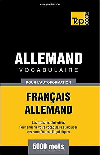 En ligne Vocabulaire français-allemand pour l'autoformation. 5000 mots pdf, epub ebook