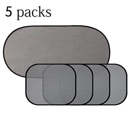 (5 Packs) Car Window Shade for Side and Rear Window – Masatow Car Sun Shades Protector Cover Best for Baby Protection