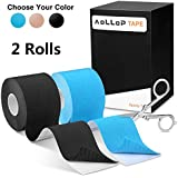Aollop Kinesiology Tape, Elastic Therapeutic Sports...