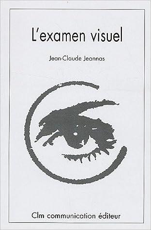 L'examen visuel : Méthodologie et Tests pdf, epub