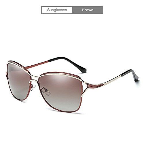 Gafas De Sra Brown Sol Polarizadas Con La HD UV Protección De OOr6qxwB