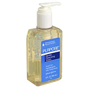 Purpose Gentle Cleansing Wash, 6-Ounce Pump Bottle