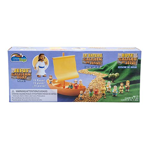 Galilee Boat 15 Piece Playset by -