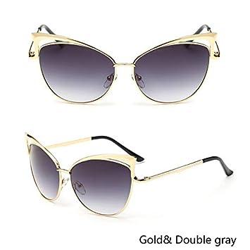 5d19a997218 BranXin - Luxury Cat Eye Sunglasses Women Brand Designer Twin-Beam Mirror  Sun Glasses Vintage