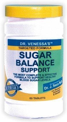 (Dr Venessa's Formulas Sugar Balance Support 60 tab ( Multi-Pack) by DR. VENESSA'S)