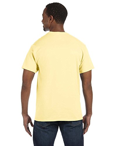 JERZEES Adult Dri-Power Heavyweight Blend T-Shirt , 2XLarge, Yellow Haze