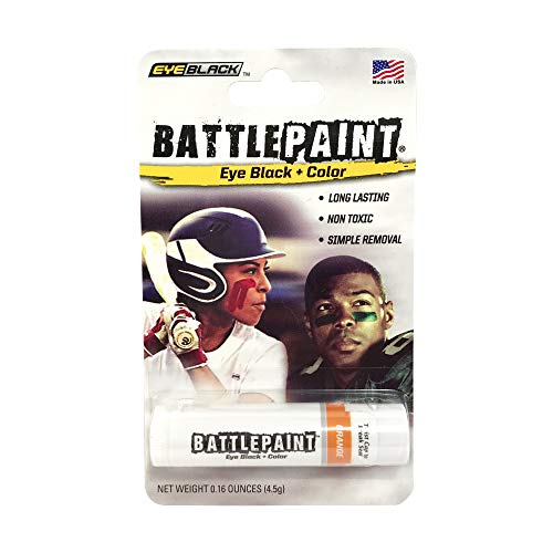 EyeBlack Orange BattlePaint Eye Black Grease -