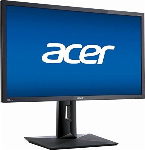 Acer CB281HK BMJDPR 28 inch 4K Ultra HD 3840 X 2160 FreeSync Monitor, 1ms Response time, 100,000,000:1 Dynamic Contrast Ratio, HDMI, DisplayPort (28-inch 4K Ultra HD 3840 X 2160)