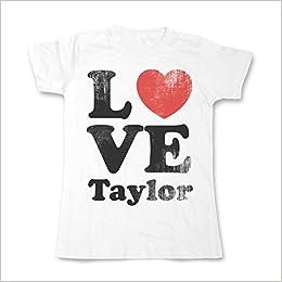 Amazon Com Sherbet Dip Love Taylor Swift Ladies T Shirt All Sizes Medium 12 White 5055531655071 Books