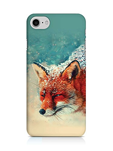 COVER Fuchs rot Tier Kopf Design Handy Hülle Case 3D-Druck Top-Qualität kratzfest Apple iPhone 7