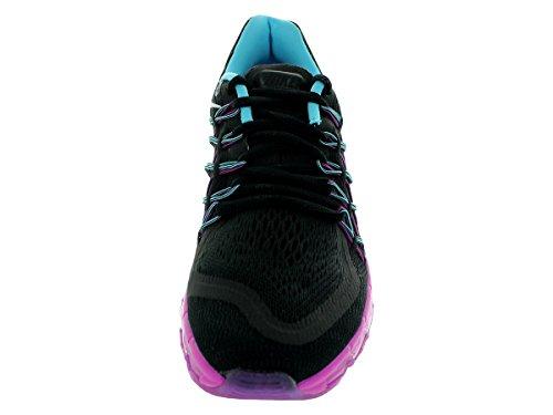 Nike Womens Air Max 2015 Nero / Bianco / Clrwtr / Fchs Flsh Scarpa Da Corsa 11 Donne Us