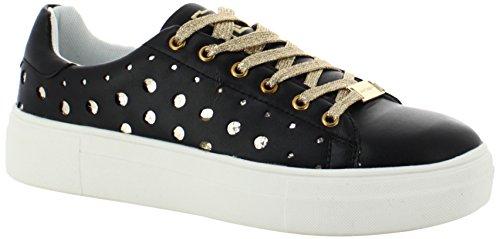 Laura Holes Biagiotti Donna Nero Sneaker 55grxqA0w