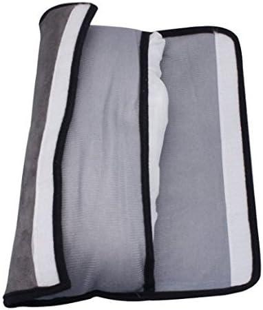 Shoulder Pad Adjust Vehicle Seat Belt Cushion For Kids /£/¨Grey/£/¬Pink/£/© Aokshen 2pcs Auto Pillow Car Safety Belt Protect