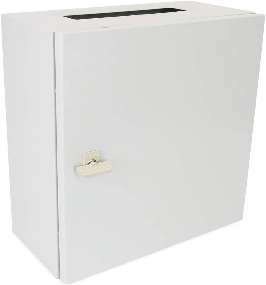 BeMatik - Caja de distribución eléctrica metálica con protección IP65 para fijación a Pared 400x400x150mm: Amazon.es: Electrónica