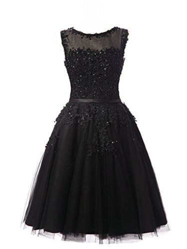 A-line Tulle Short Prom Dress