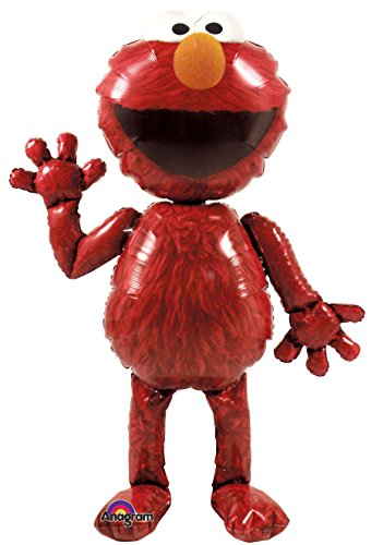 Anagram International Elmo Air Walker, Multi-Color by Anagram International